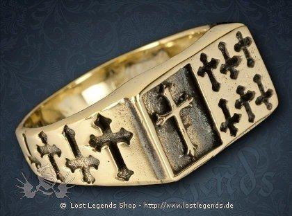 Kreuzritter Ring