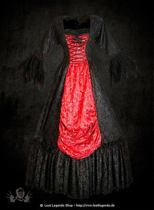 gothic kleid brokat. Black Bedroom Furniture Sets. Home Design Ideas