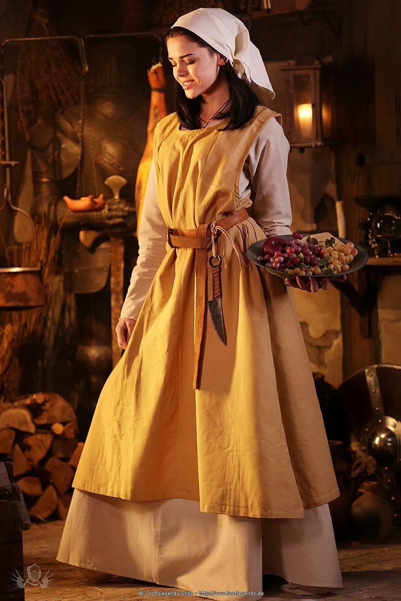 Mittelalter Berkleid Landfrau Kleider
