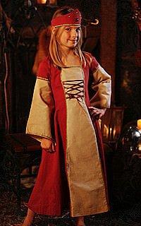 Burgfräulein Kinderkleid