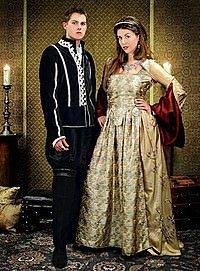 Die Tudors Renaissance Kleid Anne Boleyn