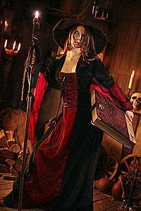 Larp Hexen-Kleid Samira