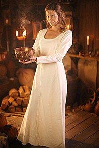 Larp Kleid White Priestess