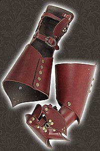 Larp Lederhandschuhe Young Warrior