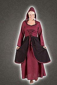 Mittelalter Bauern-Kleid Merice
