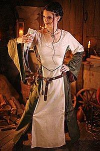 Mittelalter-Kleid Alannia