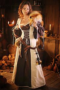 Damen Mittelalterkleider