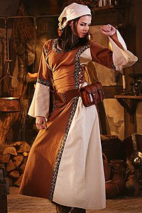 Mittelalter Kleid Elizabeth