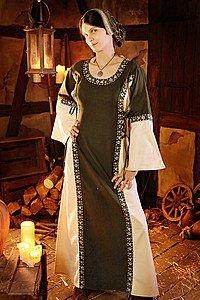Mittelalter Kleid Elizabeth mit Schnürung