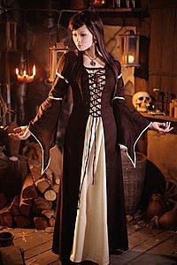 Mittelalter-Kleid Lady Alys
