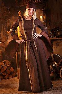 Mittelalter Kleid Rahel