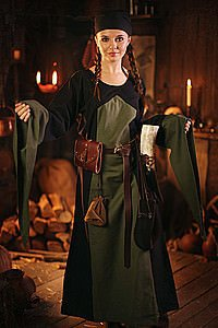 Mittelalter-Kleid Ronja