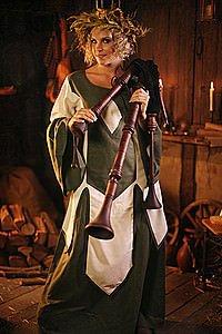 Mittelalter-Kinderkleid