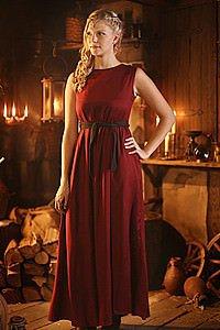 Mittelalter Mädchen-Kleid