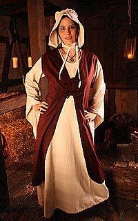 Mittelalter Überkleid Briselda