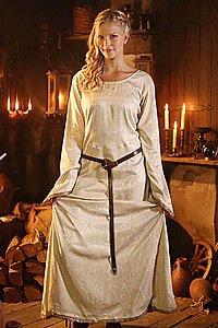 Mittelalter Unterkleid Brokat