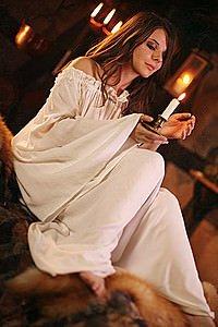 Mittelalter Kleid Unterkleid, Nachtgewand
