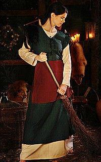 Mittelalterkleid Bäuerin