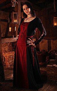 Mittelalterkleid Kleid Claudyne