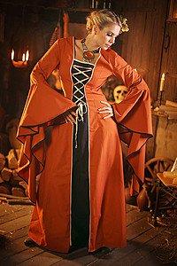 Mittelalterkleid Vherena