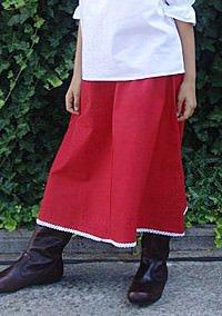 Mittelalterlicher Kinderrock Baumwolle