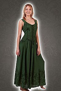 Mittelalterliches Sommerkleid