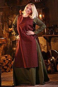 Mittelalterliches Überkleid Haitabu, braun