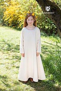 Mittelalterliches Unterkleid für Kinder, natur