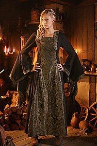 Mittellter Kleid
