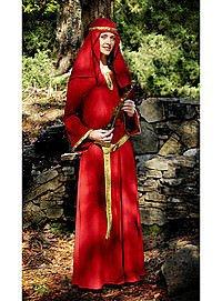 Mittelalter-Kleidung Normannisches Kleid mit Kopftuch