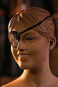 Piraten Augenklappe für Kinder
