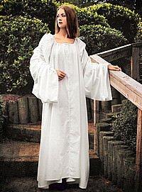 Traditionelles Mittelalter-Unterkleid Chemise