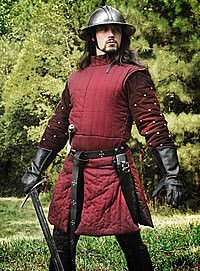 Weinroter Gambeson