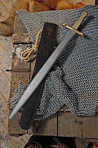 Kinder Prunkschwert mit Scheide, 48 cm