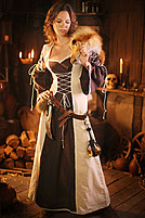 Mittelalter-Kleid Corynna