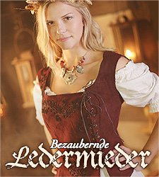 Bezaubernde Mittelalter Mieder aus Leder, Ledermieder