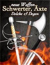 Neue Mittelalter Schwerter, Degen & Dolche